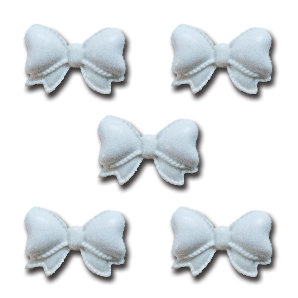 Pretty Resin Bows - Snow White