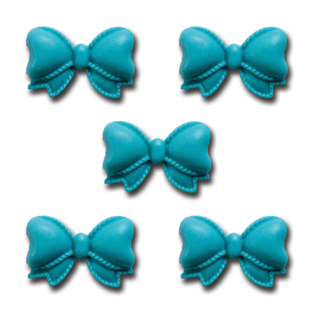 Pretty Resin Bows - Turquoise Sea
