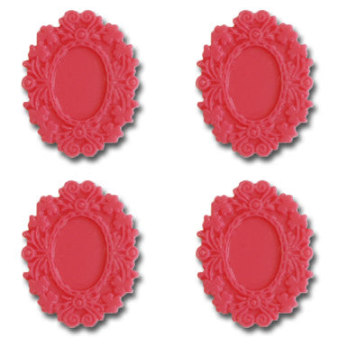 Resin Fancy Frames - Shocking Pink