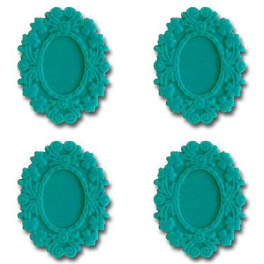 Resin Fancy Frames - Tempting Teal