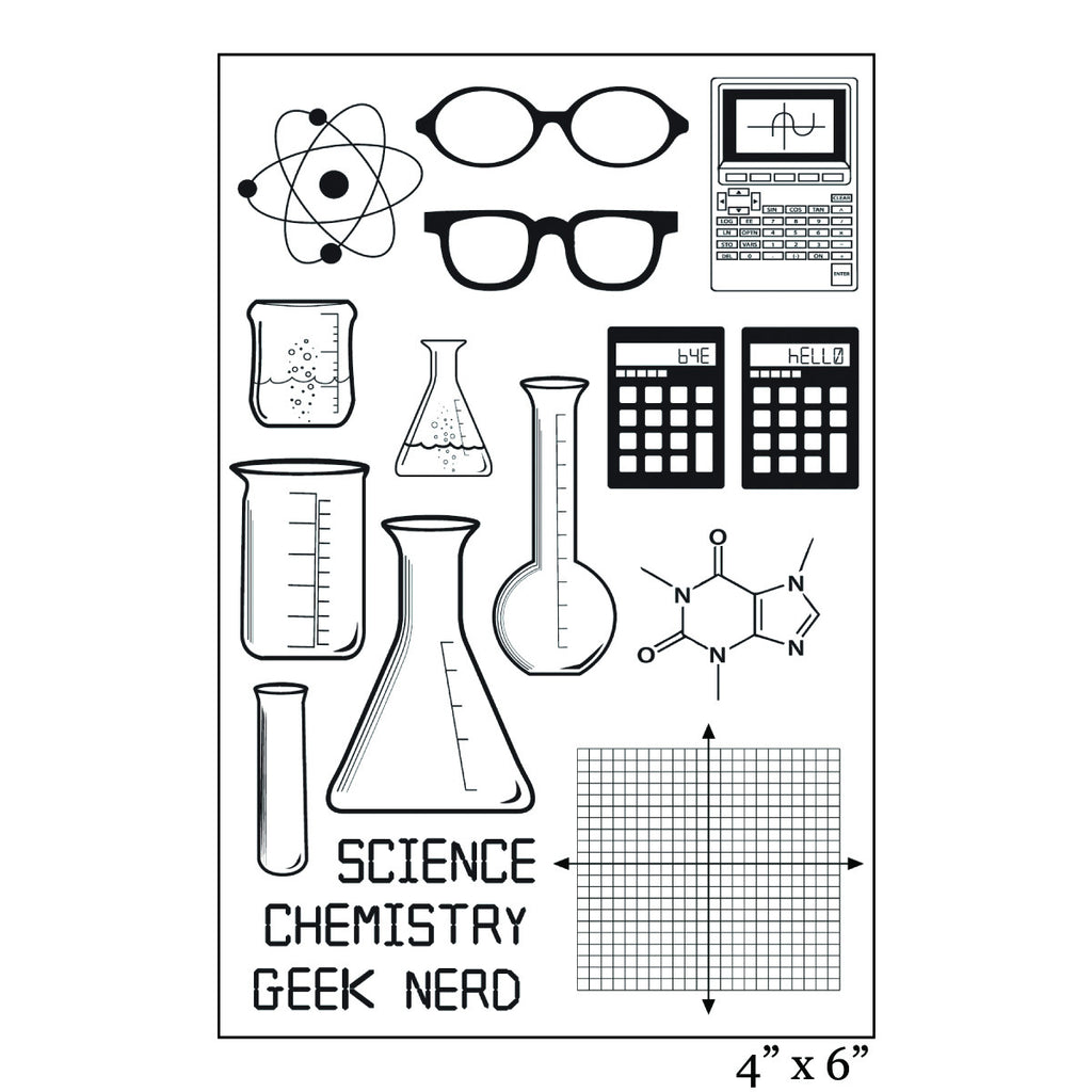Nerd Love Stamp Set