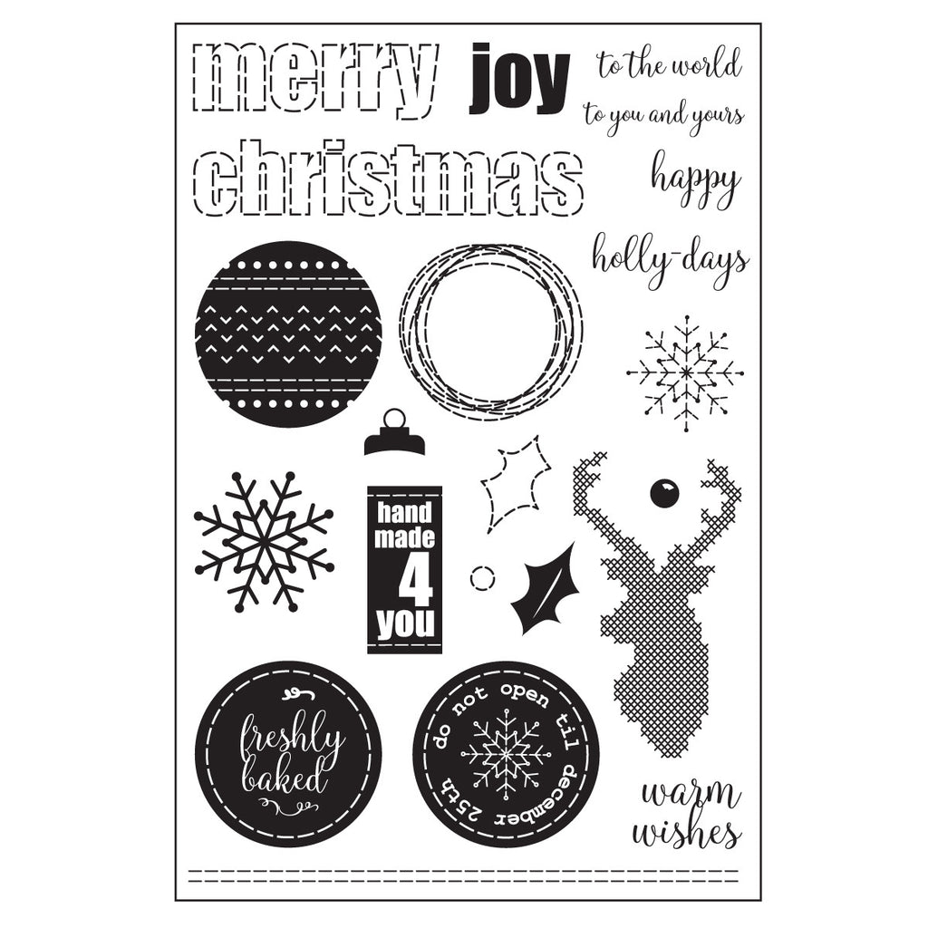 Homemade Holidays Stamp Set