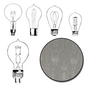 Eureka Light Bulb Transparencies - White - Bulk