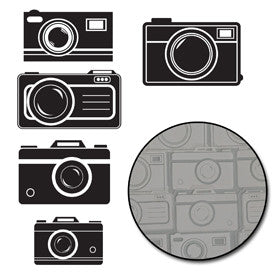 Picture Perfect Camera Transparencies - White