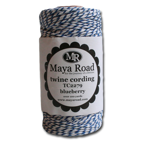 Twine Cording - Blueberry