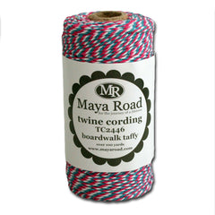 Twine Cording - Boardwalk Taffy