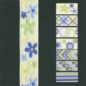 Tranquility Ribbon - Flowers