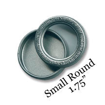 Small Round Journey Tins