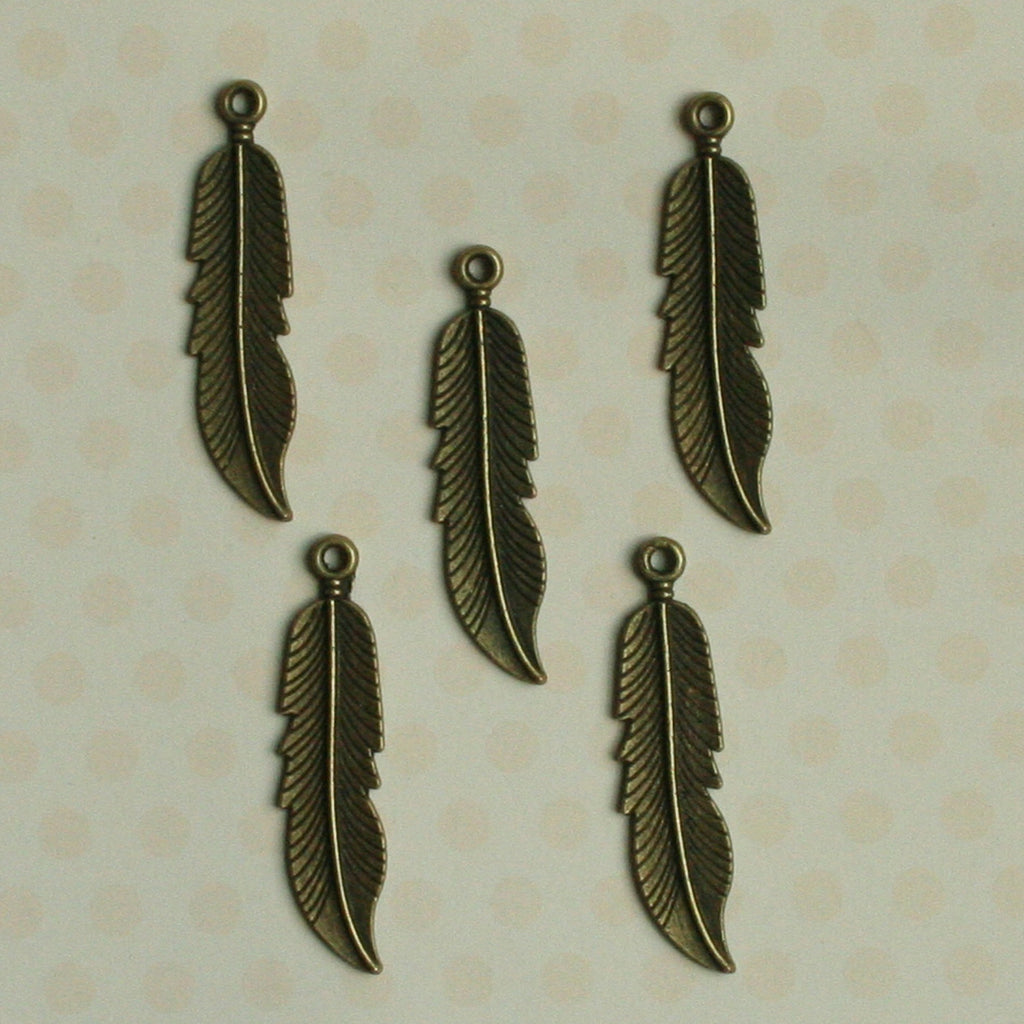 Antique Mini Quill Feathers