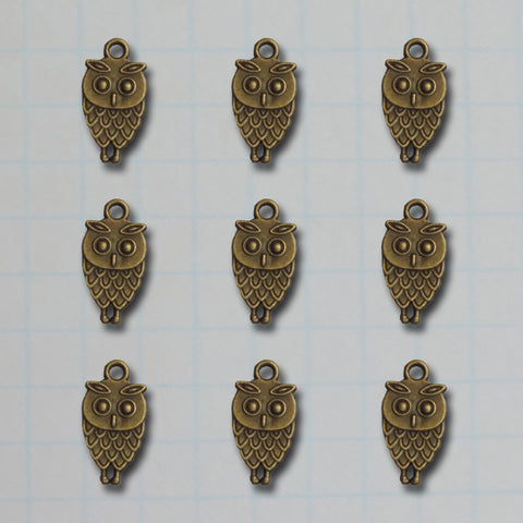 Vintage What A Hoot Owl Charms
