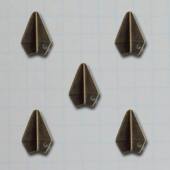 Paper Airplane Charms