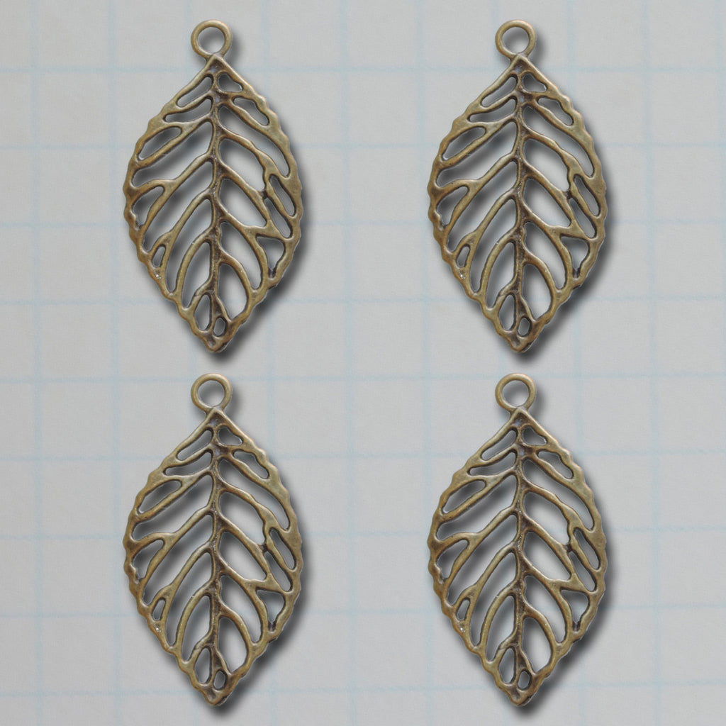 Big Leaf Charms