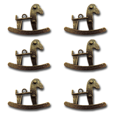 Rocking Horse Charms
