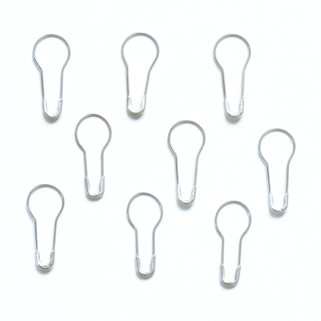 Mini Safey Pin - Silver - Bulk