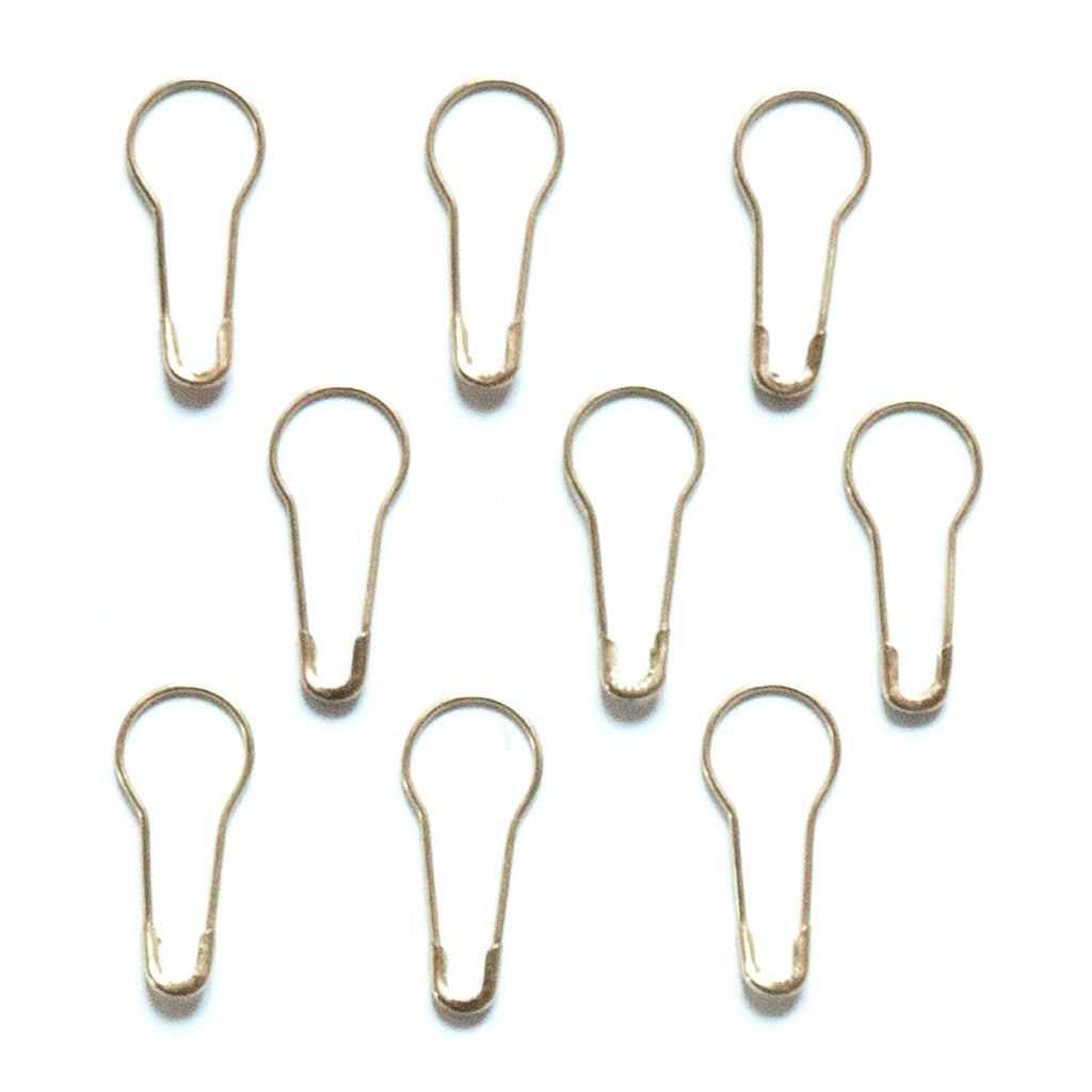 Mini Safety Pin - Gold