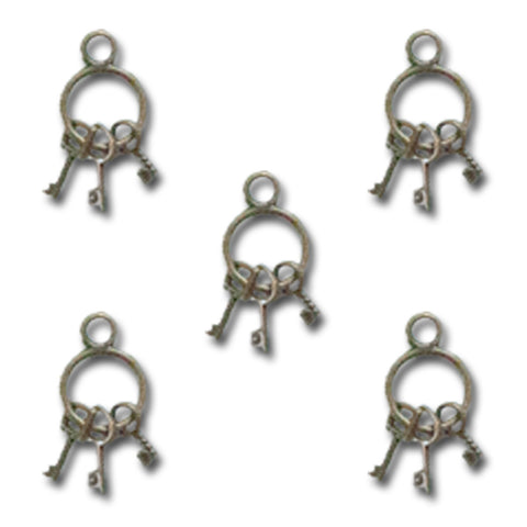 Vintage Mini Key Ring Charms