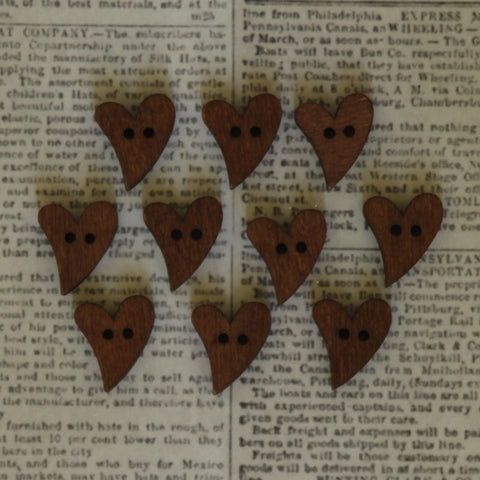 Stained Whimsy Wood Hearts