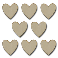 Alterable Wood Hearts