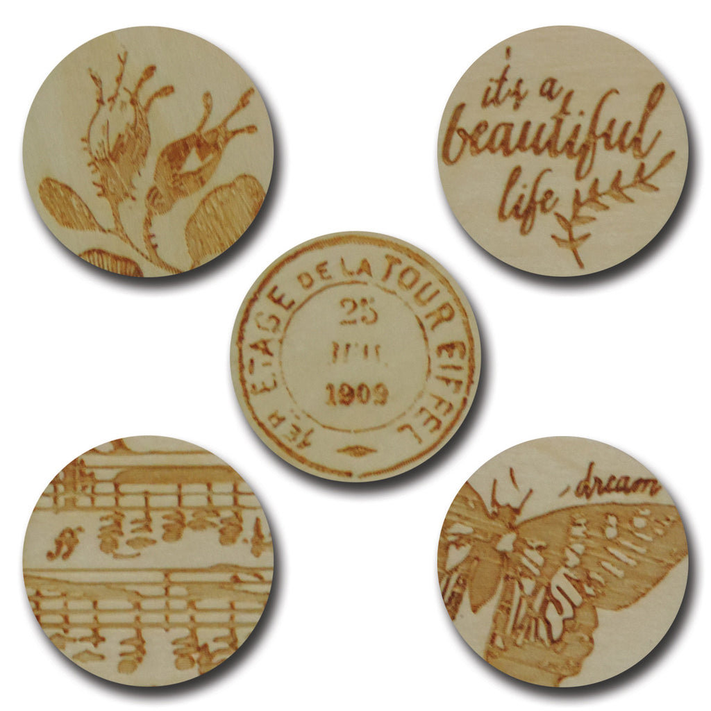 Wood Classic Tokens