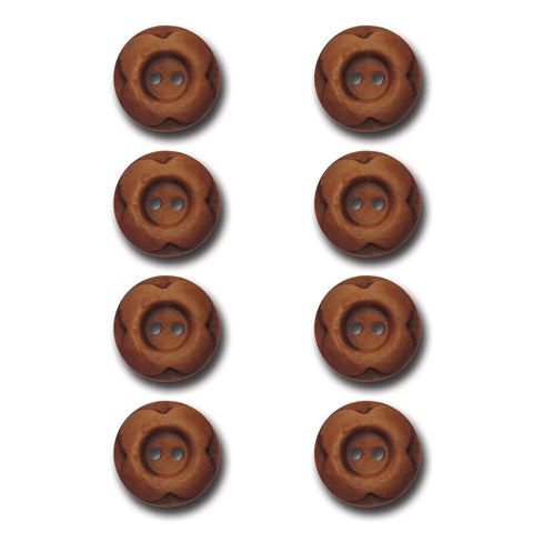 Blossom Wood Buttons