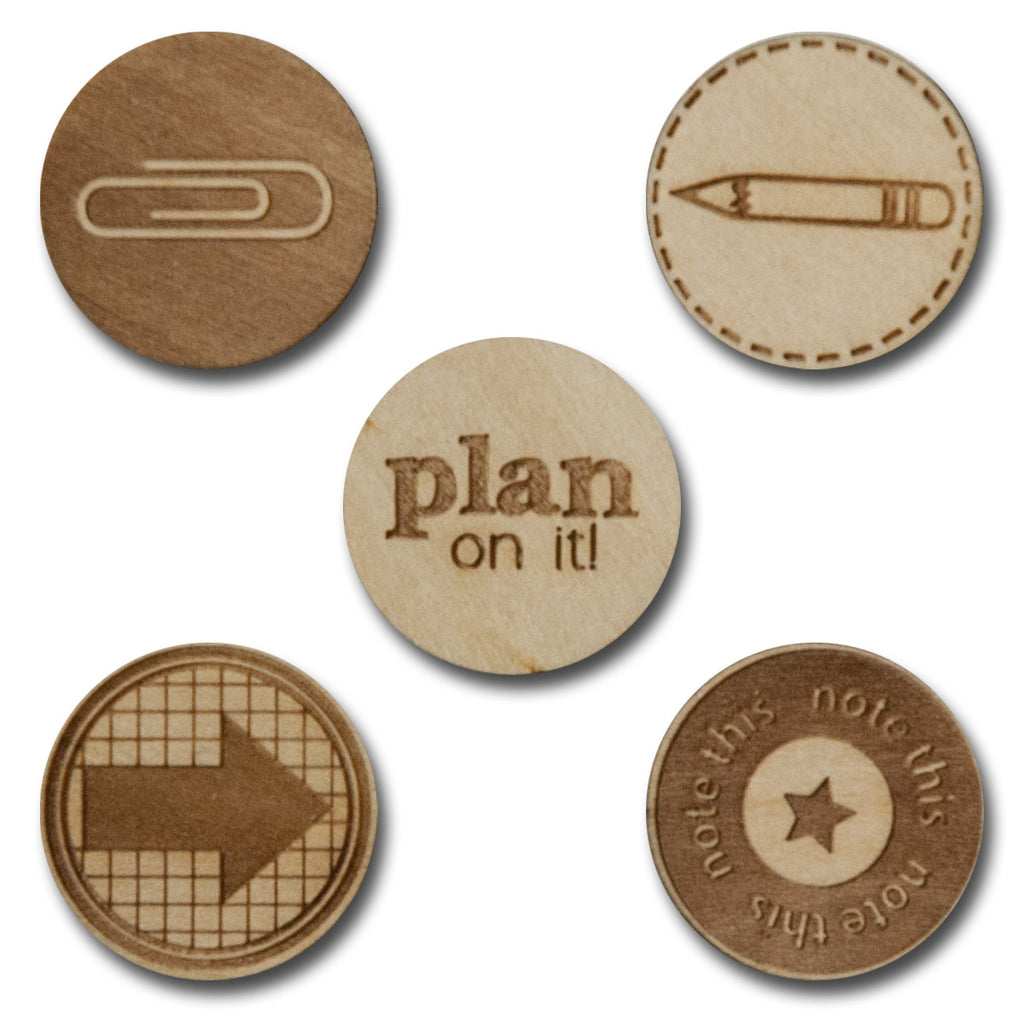 Wood Plan On It Tokens