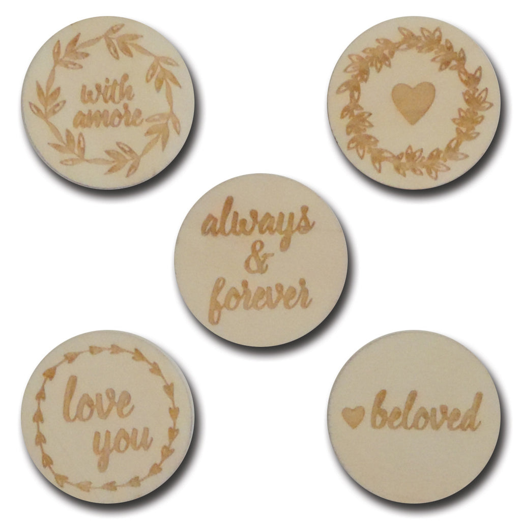 Wood Beloved Tokens