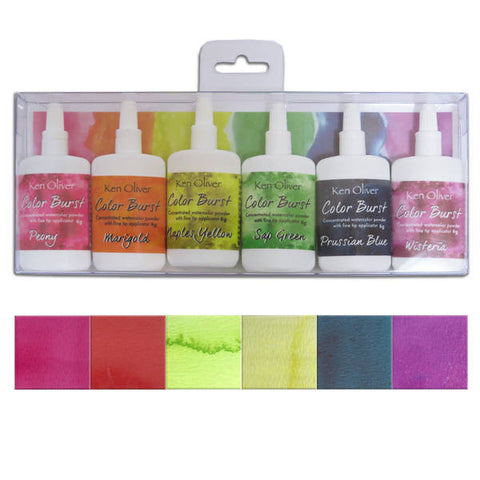 Ken Oliver Fresh Florals Color Burst Bundle