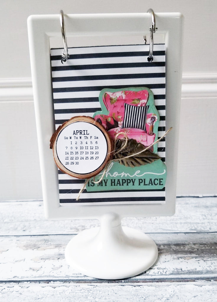 Happy Place 2019-2020 Flip Calendar