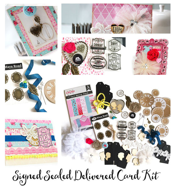 Signed Sealed Delivered Card Kit
