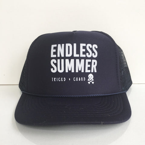Tricks + Chaos Endless Summer trucker hat