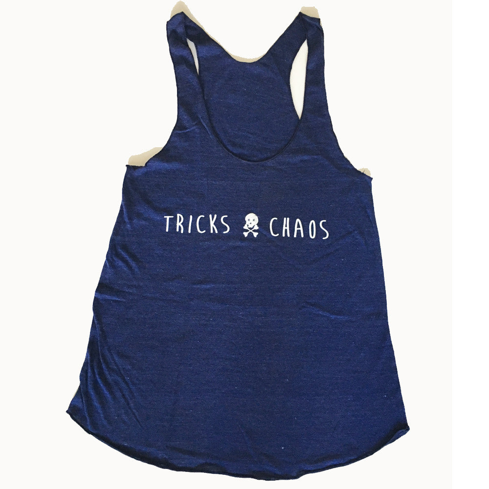 WOMEN'S TRICKS + CHAOS TANK ~ NAVY