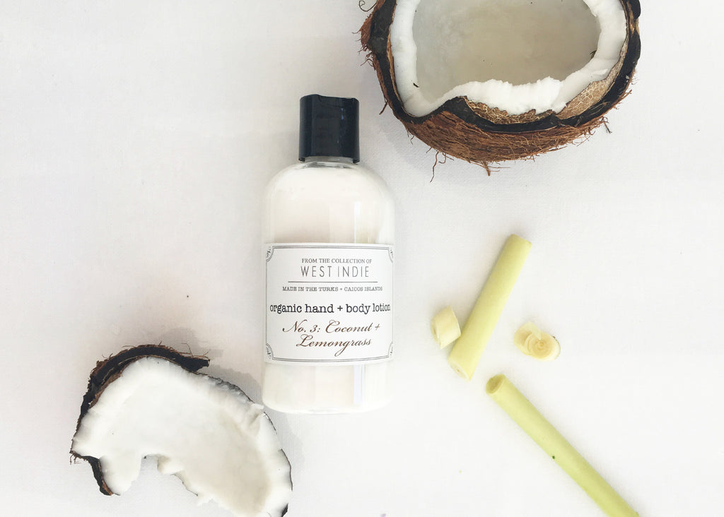 West Indie Organic Hand + Body Lotion