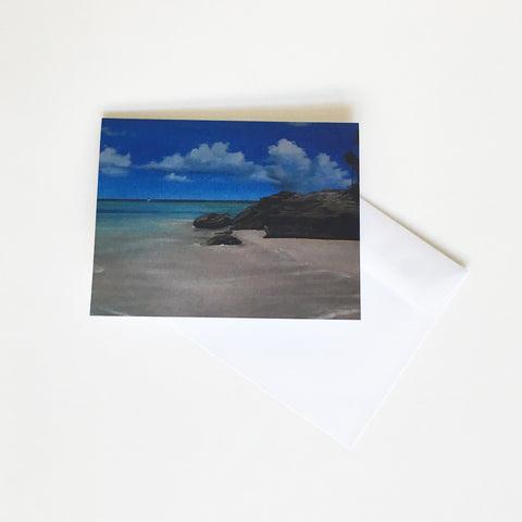 TURKS + CAICOS SEASCAPE CARD