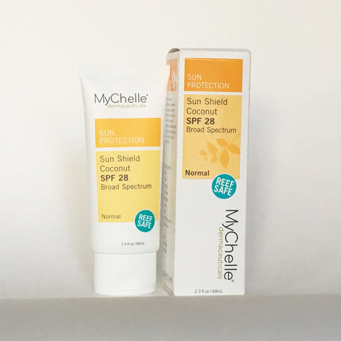 MYCHELLE SUN SHIELD COCONUT SPF 28