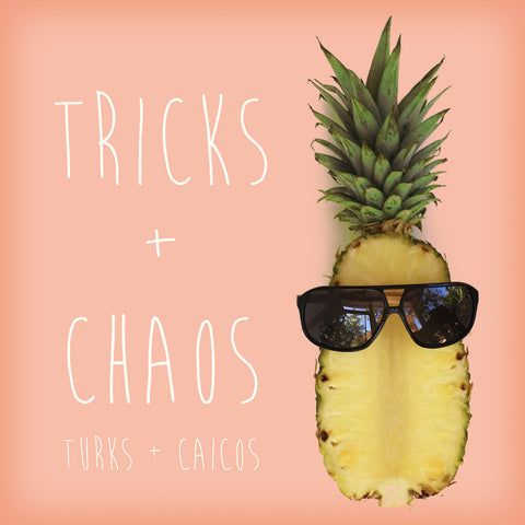 Tricks + Chaos black aviator Ligna sunglasses