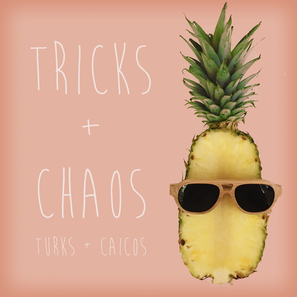 Tricks + Chaos bamboo Nucis sunglasses