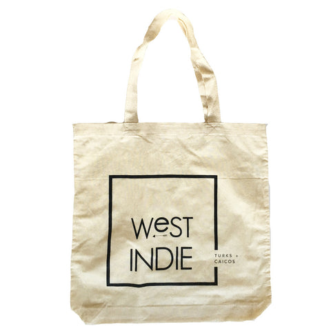 WEST INDIE ORGANIC COTTON TOTE