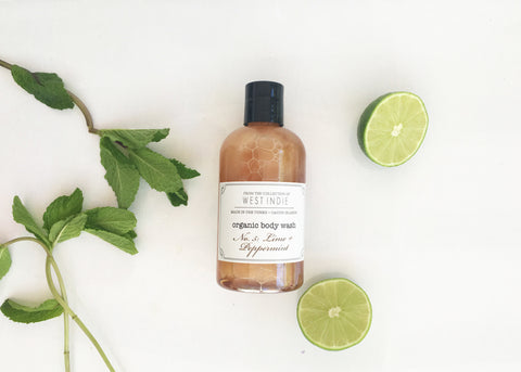 West Indie Organic Body Wash