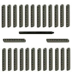 26 Set Roll Pin w/Punch for Tornado Foosball Table Man OEM foos ball part.