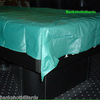 8' billiards Pool table COVER color: classic green weighted corners NIP.