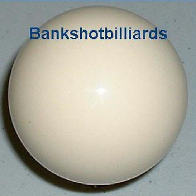 "Snooker Bumper pool Cue BALL 2 1/8"" White Replacement."