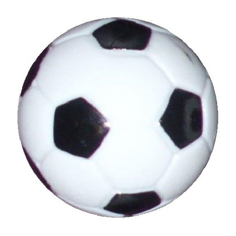 165 Table Soccer Foosball Black-White engraved balls