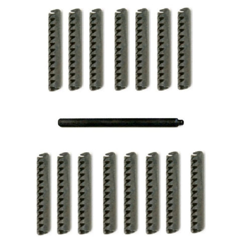 Tornado Foosball Set of 15 Roll Pins w/ Punch OEM parts.