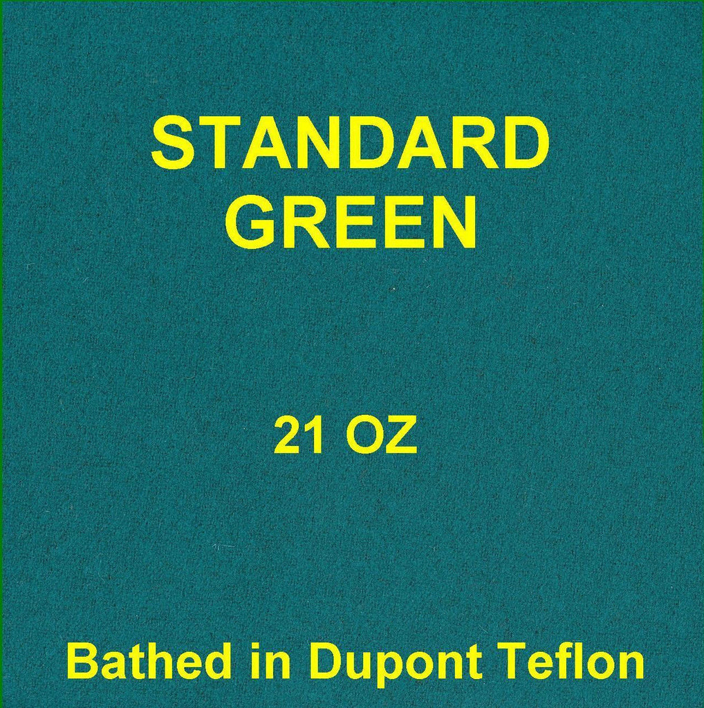 Teflon Billiard 8' Green Pool table FELT cloth fabric 21 oz