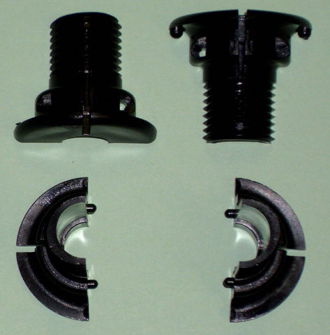 2 Bearings (4 halves) for Tornado Foosball Table foos ball OEM parts.