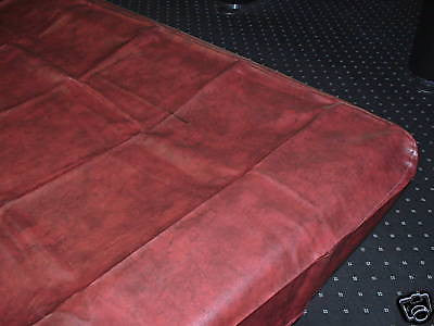 9' NAUGAHYDE pool table COVER  fitted 110 x 60 x 8 Burgundy-wine