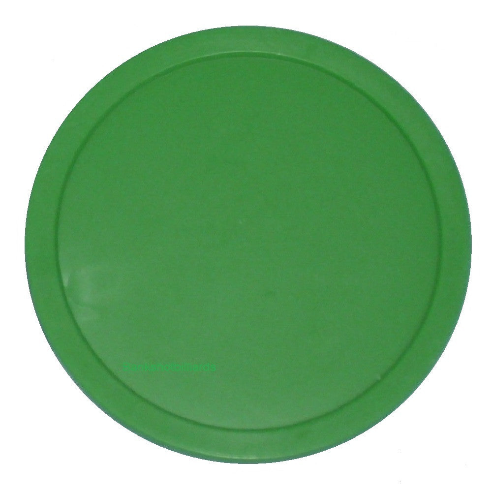 Large Green Air Table Hockey Puck 3-1/4""