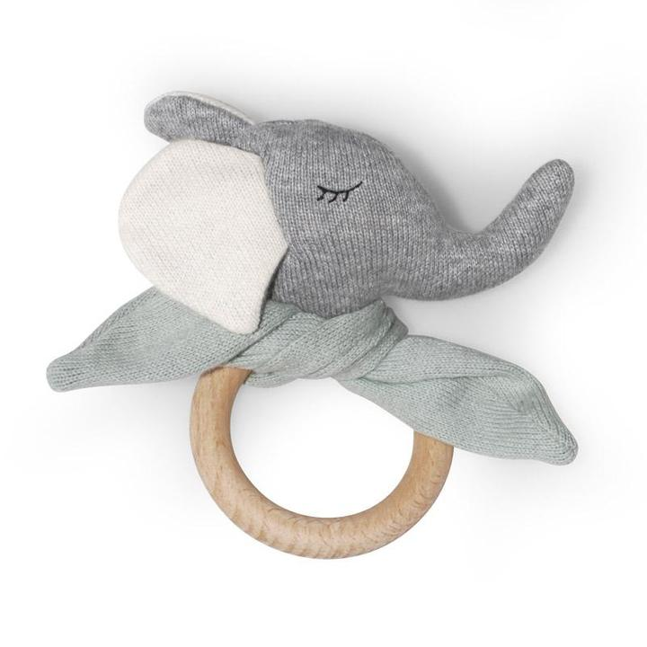 Elephant Teething Ring - Baba Box