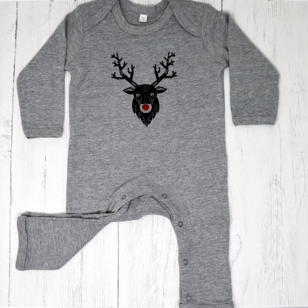 Baby's First Christmas Romper - Baba Box