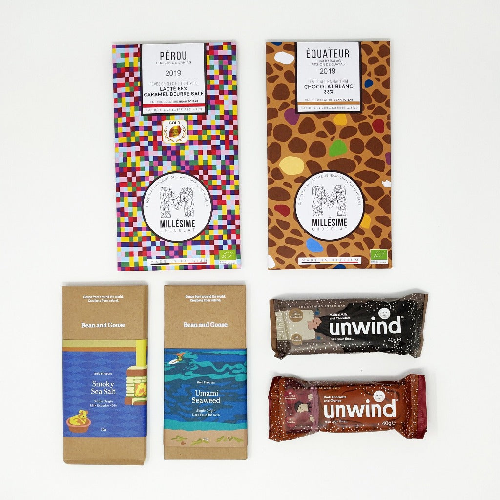 New Mum Relax chocolates & unwind bars - Baba Box